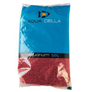 Aqua Della - Rött akvariegrus 2-4 mm - 10 kg