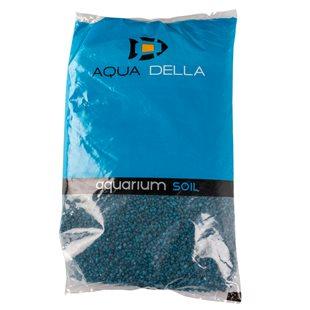 Aqua Della - Blått akvariegrus 2-4 mm - 10 kg