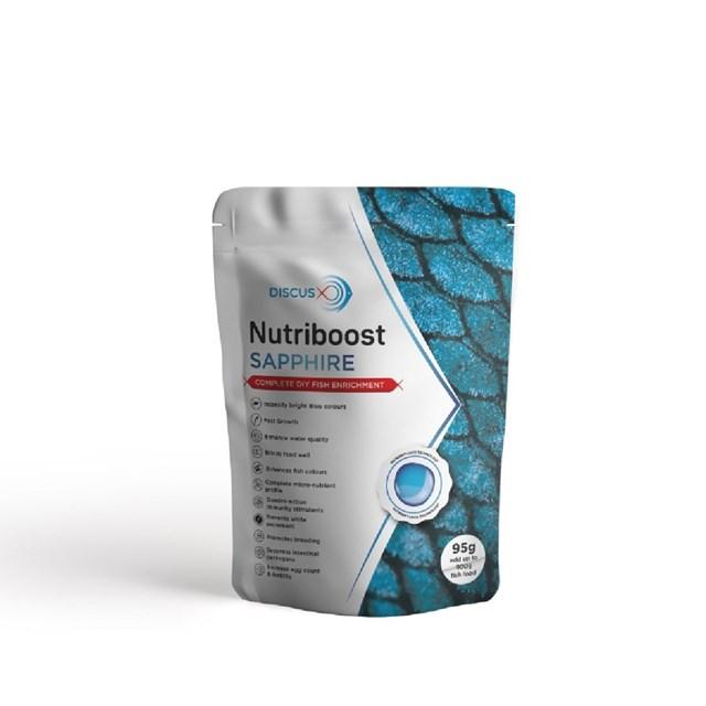 DiscusX Nutriboost Saphire - Fodertillskott - 95 g