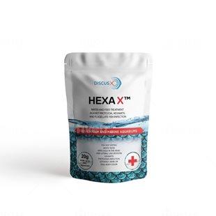 DiscusX Hexa X - För 265 liter - 20 g