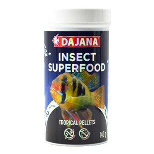 Dajana Insect Superfood - Tropical Pellets - 250 ml