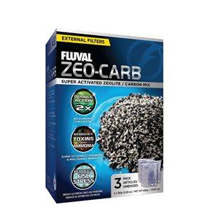 Fluval - Zeo-Carb - 3x150 gr