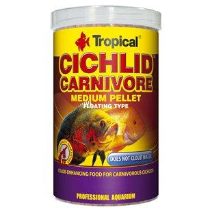 Tropical Cichlid Carnivore Medium Pellet - 1000 ml
