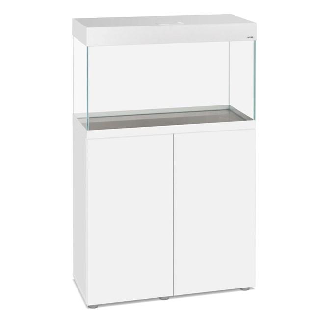Aquael Opti Set 125 liter - Vitt möbelakvarium
