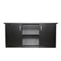 Akvariebord - Svart - 125x50x60