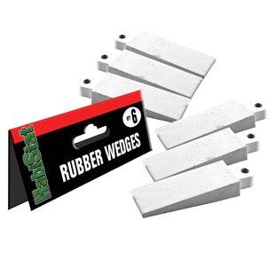HabiStat Gummikil för glasdörrar - 6-pack