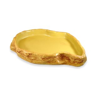 HabiStat Sandstone Feeding Dish - XL