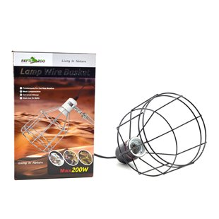 Repti-Zoo Lamp Wire Basket - Max 200 W
