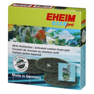 Eheim Ecco / Ecco Pro Filtermatta - 3st Kolfilter