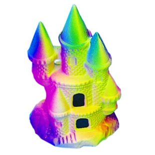 Slott - Rainbow - 18 Cm