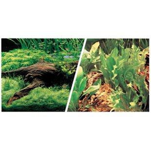 Bakgrund - 31 cm x 7.5 M - Växt/Växt
