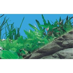 Bakgrund - 60 cm x 15 M - Berg 3-D/Akvarie