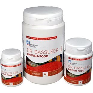 Dr Bassleer Biofish Food - Garlic - M - 150 g