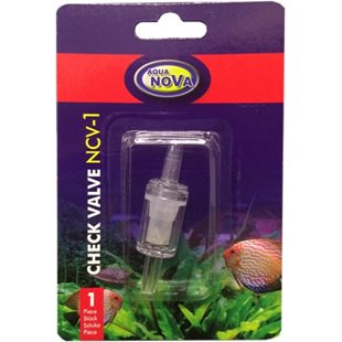 Aqua Nova - Backventil till 4/6 mm syreslang