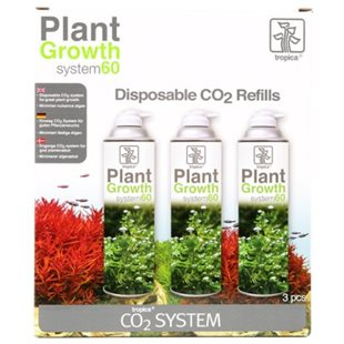 Tropica Plant Growth System 60 - Co2 Refill - 3St