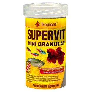 Tropical Supervit Mini Granulat - 100 ml - Fiskfoder