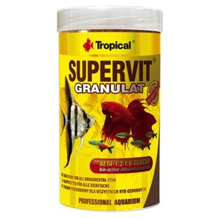 Tropical Supervit Granulat - 250 ml - Fiskfoder