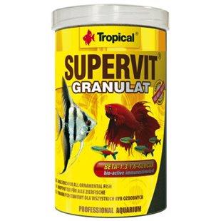 Tropical Supervit Granulat - 1000 ml - Fiskfoder