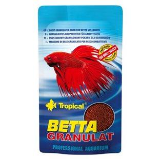 Tropical Betta Granulat - 10 g - För Kampfiskar