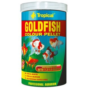 Tropical - Goldfish Colour Pellets - 1000 ml/300g