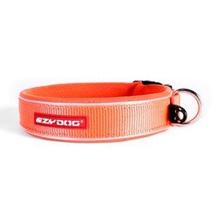 EzyDog Neo M - Orange - Hundhalsband 39-44 cm