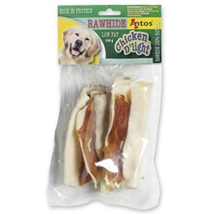 Hundsnacks Chicken D´Light Rawhide 100g - [20-pack]