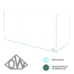 Optiwhite - Akvarium - 25 liter - 40x25x25 cm