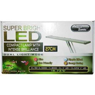 Aqua Zonic Super Bright LED Lamp - 27 cm - 15,5 W