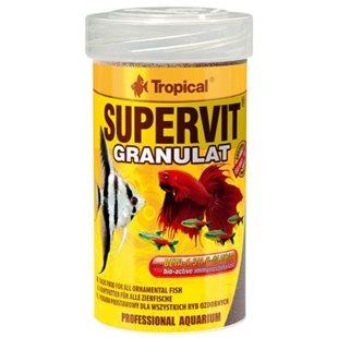 Tropical Supervit Granulat - 100 ml - Fiskfoder