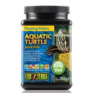 Exo Terra Vattensköldpaddsfoder - Ungar - 265Gr - Flytande Pellets