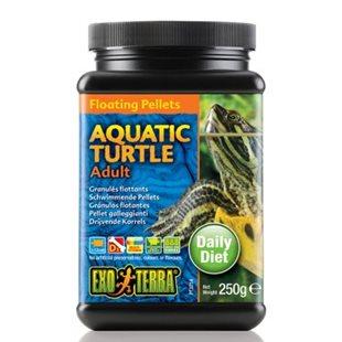 Exo Terra Vattensköldpaddsfoder - Vuxna - 250Gr - Flytande Pellets