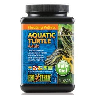 Exo Terra Vattensköldpaddsfoder - Vuxna - 530Gr - Flytande Pellets