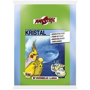 Snäcksand - Kristal White - 5 kg