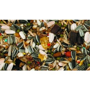 Papegojblandning - m. - Vitamin Tillskott - 4 Kg