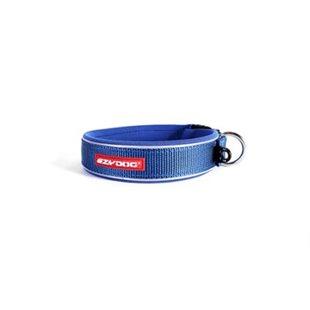 EzyDog Neo L - Blå - Hundhalsband 46-51 cm