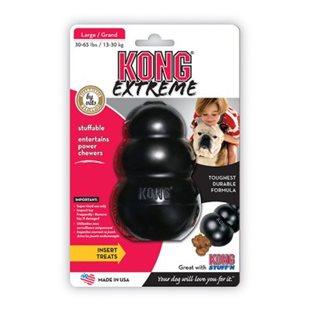 Kong Extreme - Svart - Large - 11x7 cm