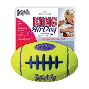 Kong Airdog Football - Medium - Squeaker - 13x8 cm
