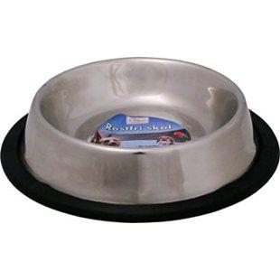 Hundskål - Rostfri - Nontip - 2500 ml