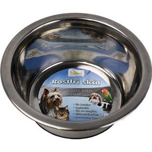 Hundskål - Rostfri - Anti-Slip - 2600 ml - 23 cm