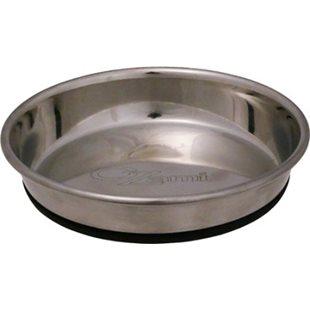 Kattskål - Rostfri - Anti-Slip - 12,5 cm - 250 ml