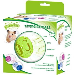 Hamsterboll - Roll n Around - ø 17.5 cm / 7 tum - Mix Färg