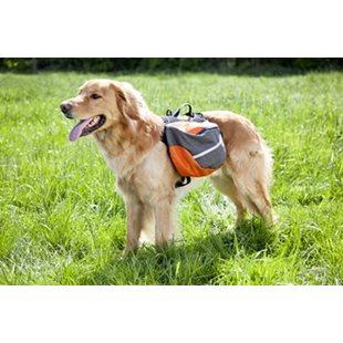 Klövjeväska - Extreme Backpack - M - Orange/Grå/Svart - 60-90 cm