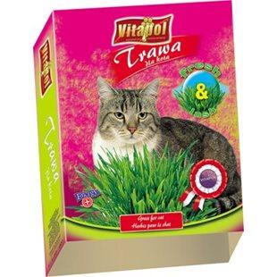 Vitapol Kattgräs - 100 g