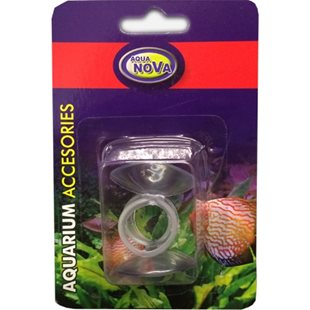 Aqua Nova - Sugkopp med ring - 12/16 mm - 2-pack