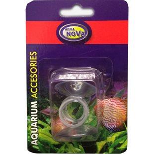 Aqua Nova - Sugkoppar med ring 16 mm - 2-pack