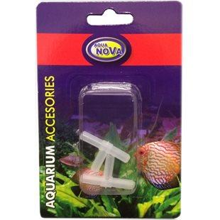 Aqua Nova - T-koppling 4/6 mm - 2-pack