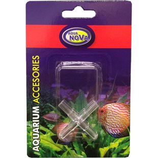 Aqua Nova - 4-vägskoppling 4mm - 2-pack