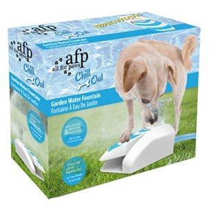 Chill Out Vattenfontän Garden - Trädgårdsvattenfontän för hund
