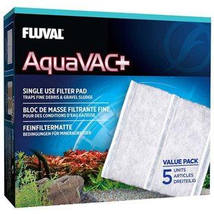 Fluval AquaVac+ Slamsugare - Finfilter 5 st