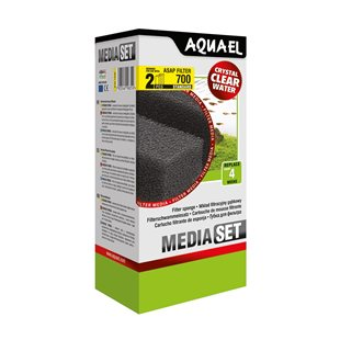 Aquael -  ASAP 700 filtermatta - 2-pack